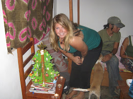 Me with our Christmas Tree