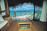 Manihi Overwater Bungalow Interior
