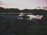 Dawn from Palau Marine Club