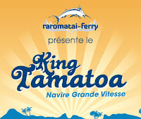 King Tamatoa ferry logo