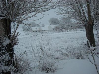 Snevejr som i gamle dage o