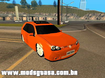 Vw Golf GTI BS Sound para GTA San Andreas