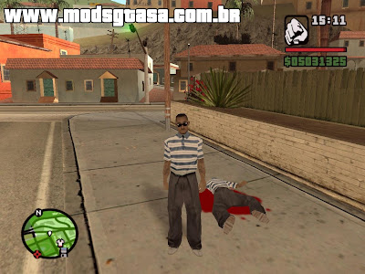 Player Change para GTA San Andreas