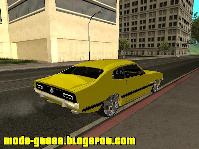 Ford Maverick GT Edit By Thiago para GTA San Andreas