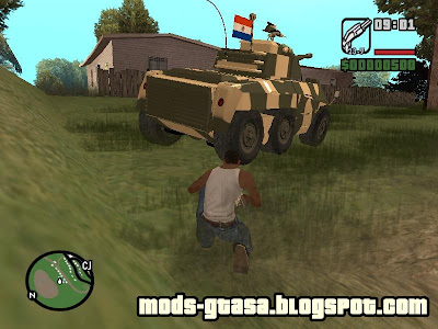 Cascavel do Exercito Paraguaio para GTA San Andreas