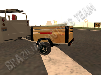 ReboqueCarretinha para GTA San Andreas