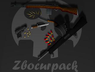 PACOTÃO DE ARMAS MODIFICADAS Zbocurpack