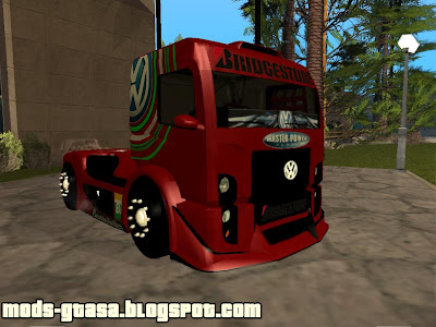 Vw Constellation Formula Truck para GTA San Andreas