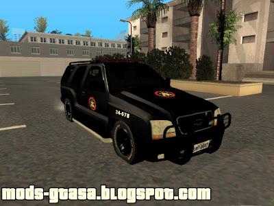 Chevrolet Blazer BOPE - RJ - Mods GTA San Andreas