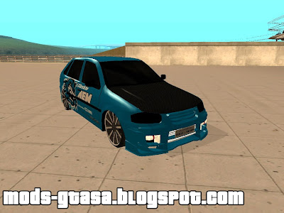 Vw Gol G4 Edit By Pablo Aguiar para GTA San Andreas