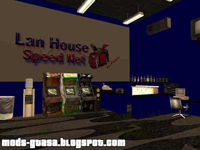 Lan House Speed Net para GTA San Andreas