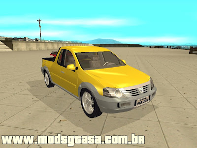 Dacia Logan Pick-up Concept para GTA San Andreas