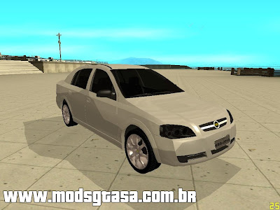 Chevrolet Astra Sedan 2010 para GTA San Andreas