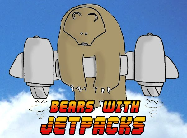 Bears with Jetpacks