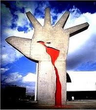 Escultura de Oscar Niemeyer