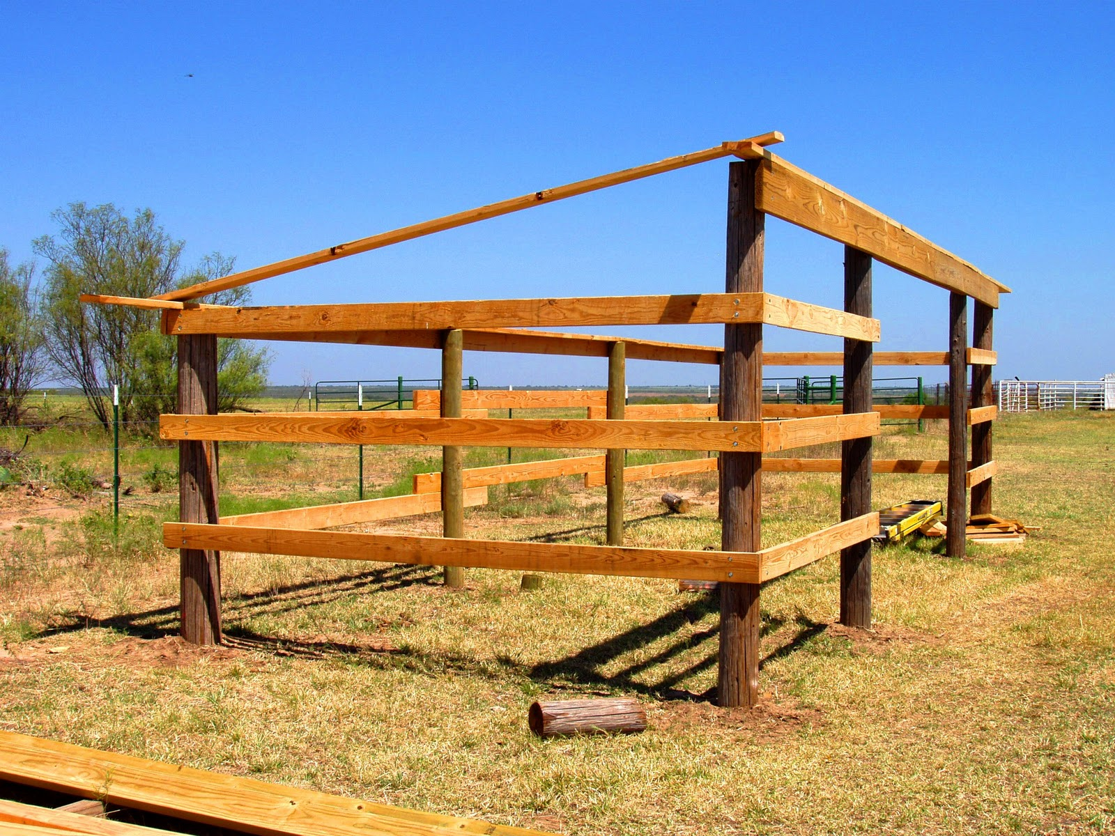Horse Lean to Shelter Plans