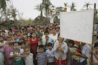 >Images in Burma on May 11