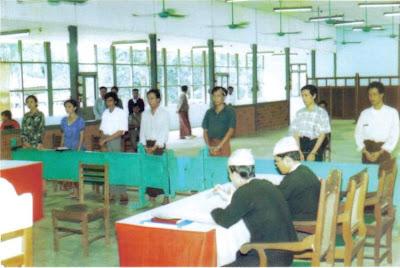 >Daw Pyone Pyone Aye's talk on Insein prison