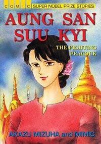 >japanese cartoons on Daw Suu