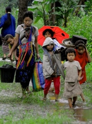 >Junta dismisses EU concerns over Karen refugees