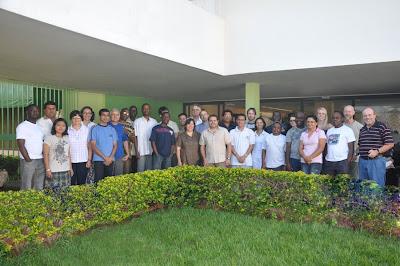 Missionários de 17 países fazem curso no CCM