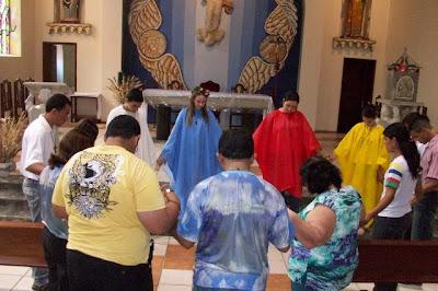 Fundação da IAM e da JM na Paróquia São Sebastião em Timbaúba/PE