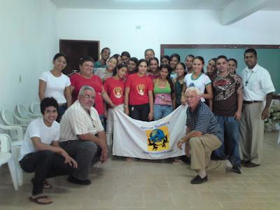 Formação da JM em Ibateguara/AL