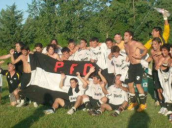 FESTEJO DEL ULTIMO CAMPEON: PILAR FUTBOL CLUB