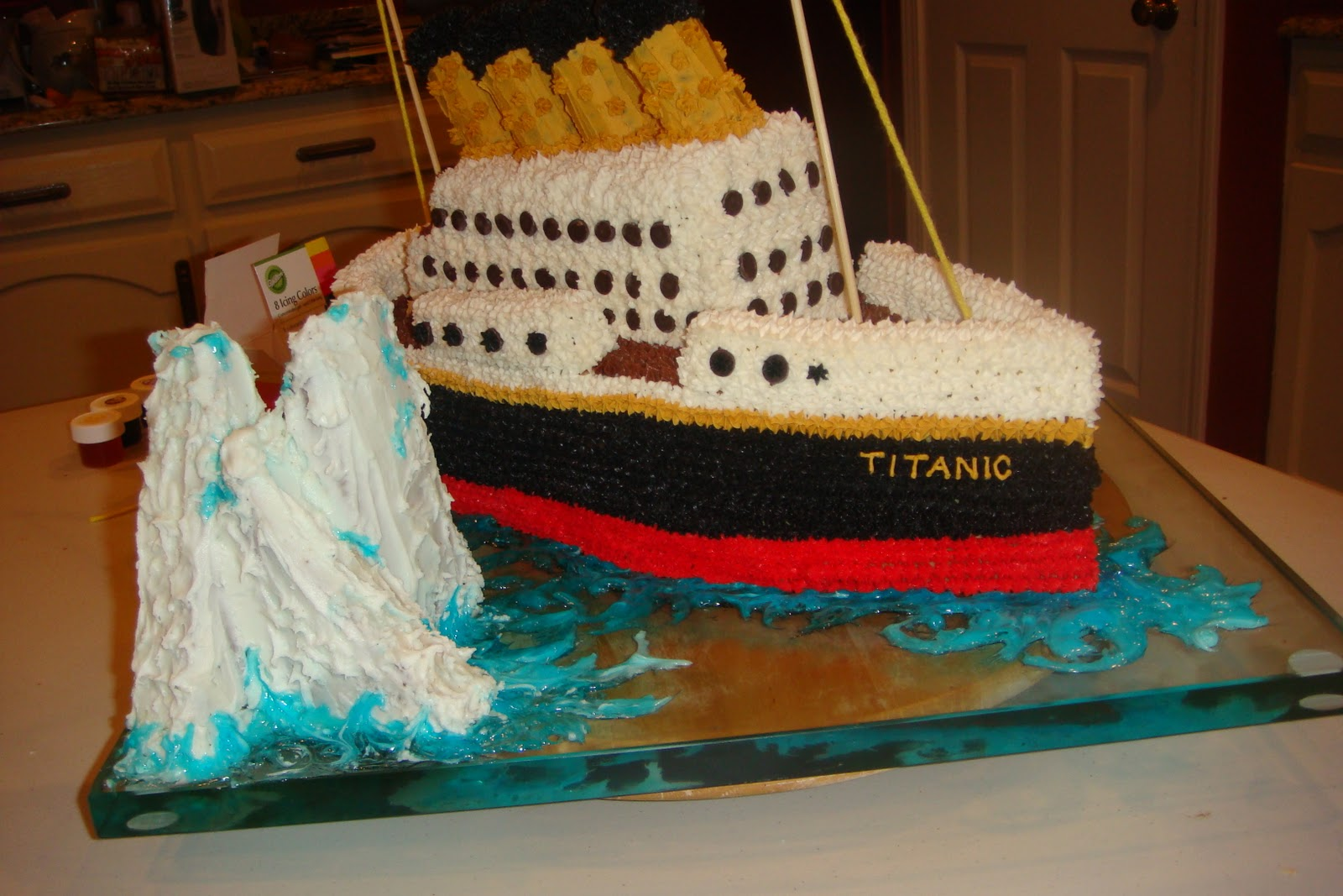 airplane birthday cakes pictures with How To Make Titanic Cake on Criket Cake together with 349451252313606229 besides 40 Birthday Cake further 9a08259834 further 11540542773028342.