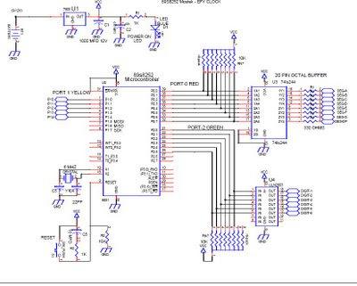 Rangkaian Jam digital RTC menggunakan Bascom 8051