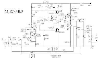 subwoofer schematic with Mosfet Audio  Lifier 70 Watt on Stereo Audio Power  lifier 11w Using Lm4752 furthermore Filtre Actif 3 Voies together with Pioneer Car Dvd Wiring Diagram further Page2 besides Car Sub Cable.