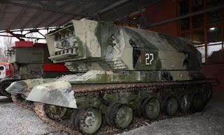 tanque Laser ruso