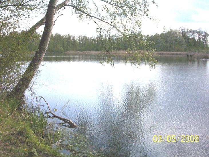 Jezioro koło Zaboru! ( lubuskie )