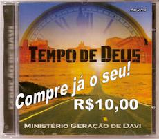 CD TEMPO DE DEUS