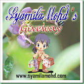 SyamilaMohd's Give Away