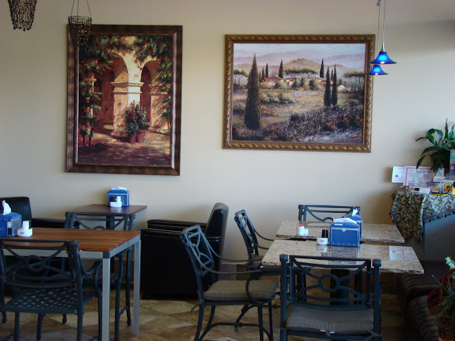 The Dining area at Bella Citta