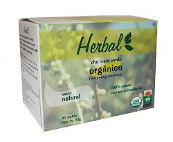 Chá mate verde em sachês- ORGÂNICO
