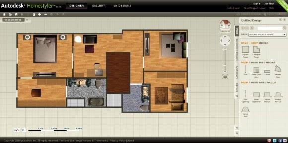 Patagonet red de profesionales autodesk homestyler for Disenar casa online con autodesk homestyler