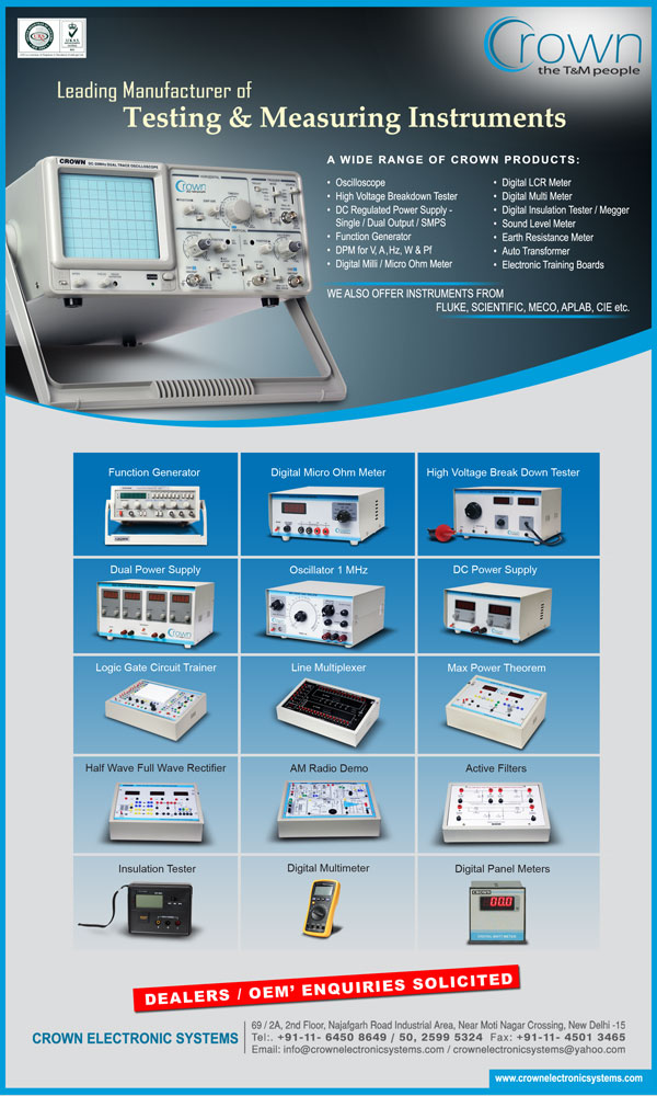 Electronic Test Instruments : Electronic test instruments