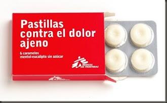 Campaña 'Pastillas contra el dolor ajeno' .