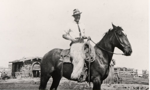 Marion, at home on horseback