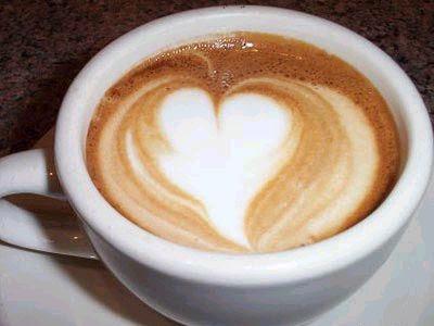 cafe trai tim