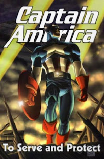 Review Captain America To Serve and Protect Mark Waid Ron Garney Dale Eaglesham Andy Kubert Marvel Cover trade paperback tpb comic book
