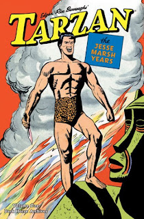 Review Tarzan The Jesse Marsh Years Volume One Robert P. Thompson Gaylord Dubois Dell Four Color Comic Dell Comics Dark Horse Cover hardcover hc comic book