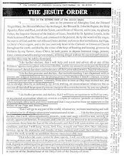 Juramantul Iezuit in Biblioteca Congresului SUA !