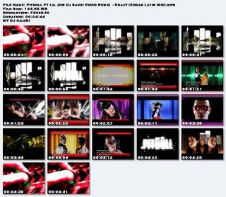 Pitbull Ft Lil Jon Dj Sauri Video Remix - Krazy (Edgar Latin Mix)