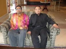 Inilah ABU SYAFIQ  berbaju hitam Presiden Ahbash Malaysia