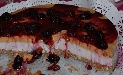 Cheesecake de frutos vermelhos Cheesecake00
