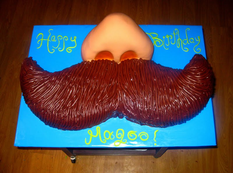 Janas Fun Cakes blogspot The Mustache Cake