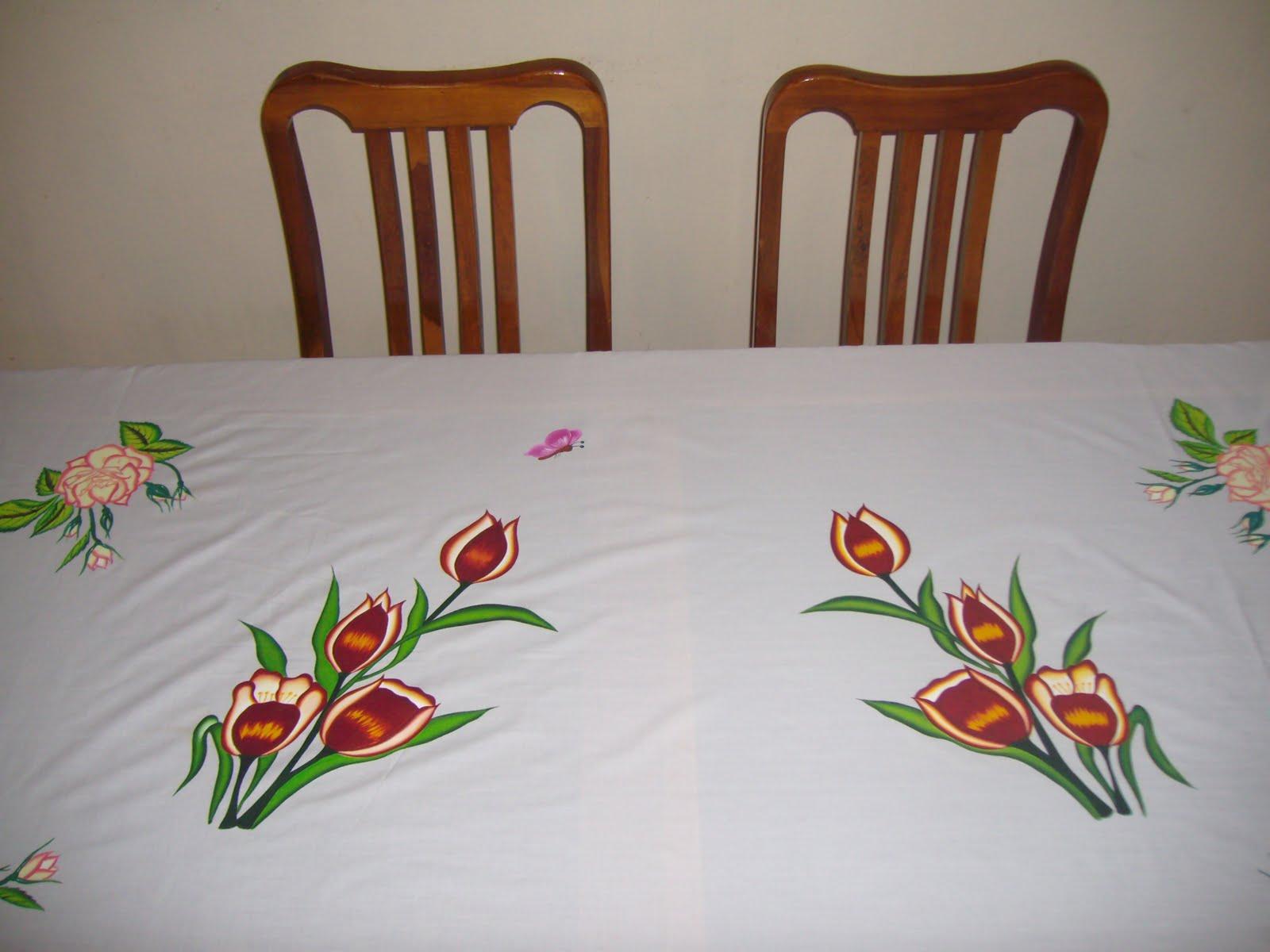 Arte en tela mantel para mesa rectangular - Manteles mesa rectangular ...